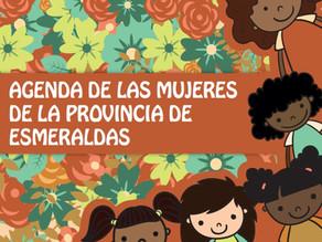 Presentación de la agenda Provincial de las Mujeres de Esmeraldas