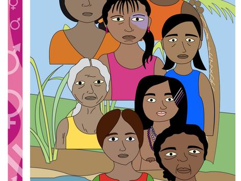Mujer Conoce tus Derechos : Violencia / Rotafolio