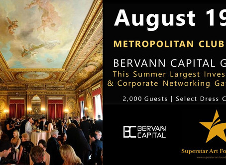 Event: Superstar Gala NewYork (Aug.19th) Invitation