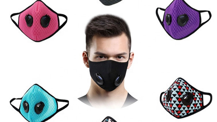 Fashion Face Mask with Filter (sports/anti dust)