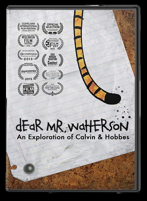 Dear Mr. Watterson DVD