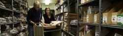 Chagrin Falls Library basement