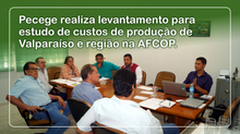 Pecege realiza levantamento para estudo de custos de produção de Valparaíso e região na AFCOP.