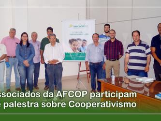 Associados da AFCOP participam de palestra sobre Cooperativismo