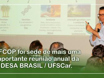 AFCOP foi sede de mais uma importante reunião anual da RIDESA BRASIL / UFSCar.