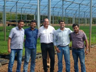 Técnicos da AFCOP visitam 2 viveiros de Cana