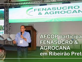 AFCOP participa da FENASUCRO & AGROCANA em Ribeirão Preto