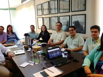 Grupo de Comunicação da Orplana se reúne para discutir estratégias.