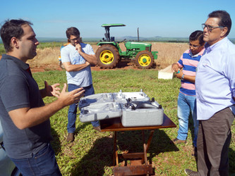 Associação investe em tecnologia e adquire drone para utilizar na cana-de-açúcar.