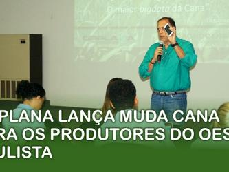 ORPLANA lança MUDA CANA para os produtores do Oeste Paulista