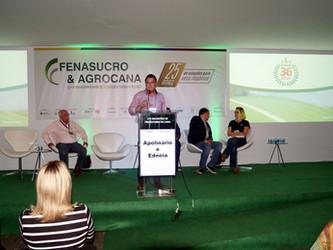 AFCOP expõe sobre projeto MUDA CANA na arena do conhecimento da FENASUCRO & AGROCANA