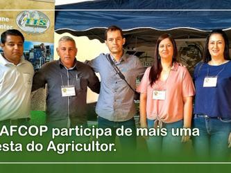 A AFCOP participa de mais uma Festa do Agricultor.
