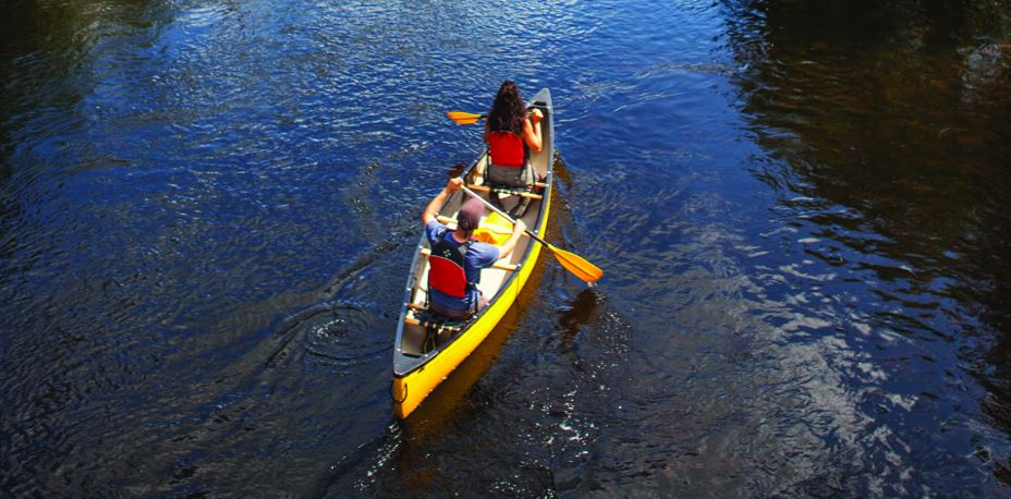 Sport nautique canot kayak rapides
