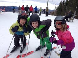 Famille Monarque - Ski enfants