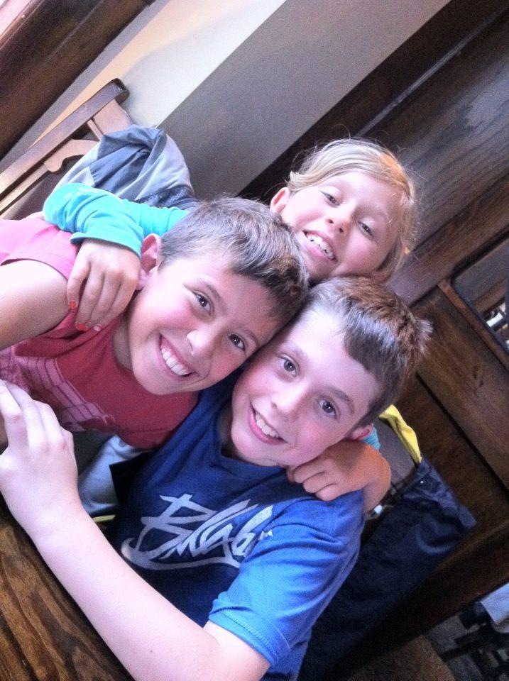 Famille Monarque - 3 enfants