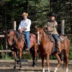 Équitation Ranch au bois rond