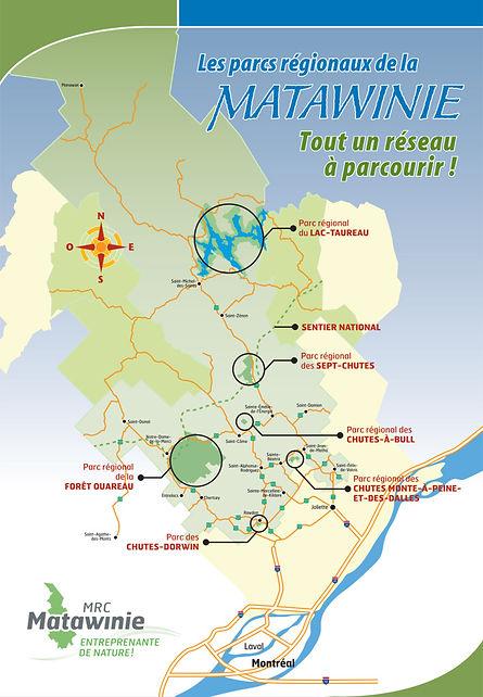Région Matawinie, activités sports, détentes, attraits touristiques, Lanaudière.