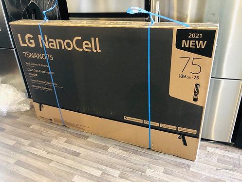 "LG 75"" 4K NANO75 Smart Wifi NANO Cell LED TV [2021 Model]"