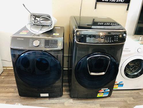 Samsung 18.5Kg Flex Wash & Samsung 10Kg Hybrid Heat Pump Dryer COMBO