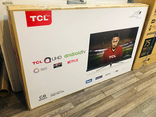TCL 55 inches P6 4K Android Smart Wifi QUHD LED TV