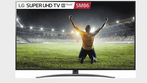 """LG 75"""" 4K Smart Wifi Ultra HD SMART LED TV with Magic Voice Control Remote"""