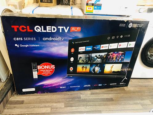 "TCL 55"" QLED SERIES 8 4K Android Smart TV Inbuilt Soundbar [2020]"