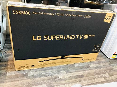 """LG 55"""" NANO86 4K TV 200Hz Nano Cell GoogleAssist [2020 Model]"""