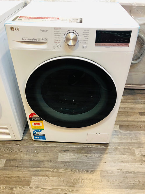 LG 8KG Direct Drive Front Loade Washing Machine with STEAM Wash