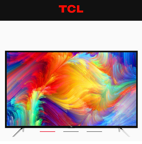 "TCL 55"" 4K HDR Smart Wifi Youtube Netflix LED TV"