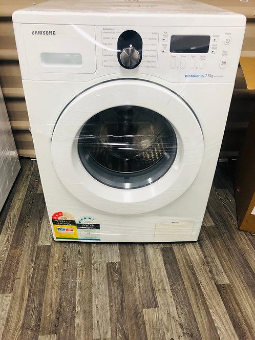 Samsung 7.5KG BUBBLE WASH Front Loader Washing Machine