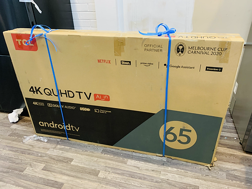 """TCL 65"""" QUHD P20 4K Android Smart Wifi LED TV"""