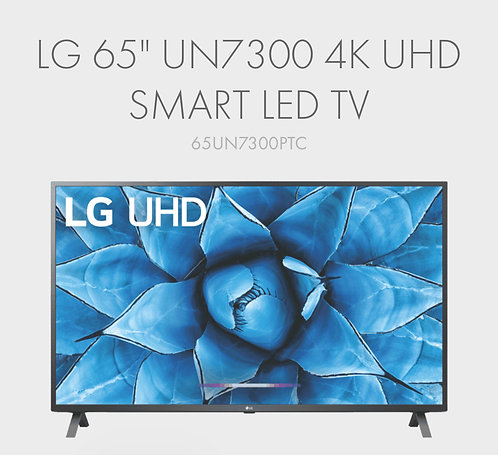 "LG 65"" UN7300 4K Ultra HD SMART LED TV [2020 Model]"