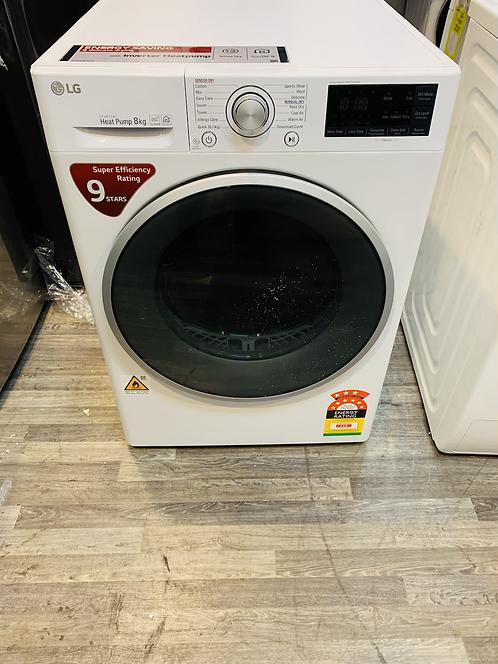 LG 8Kg Wifi Heat Pump Dryer 9 STAR Ratings [2020 Model]