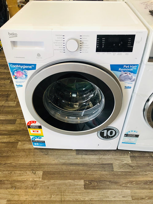BEKO 7Kg INVETER Washing Machine STEAM [2020 Model]