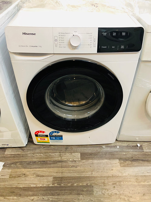 Hisense 9Kg INVERTER AddWash Washing Machine STEAM [2020 Model]