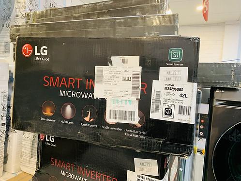LG NeoChef 42L Auto Sensor Microwave Oven - Black [2021 Model]