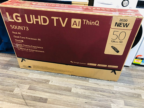 """LG 50"""" 4K Smart Wifi LED TV with Google Assistant and Apple Play [2020 Model]"""