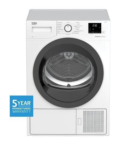 BEKO 8Kg Sensor Controlled Heat Pump Dryer [5 Year Manufacturer Warranty]