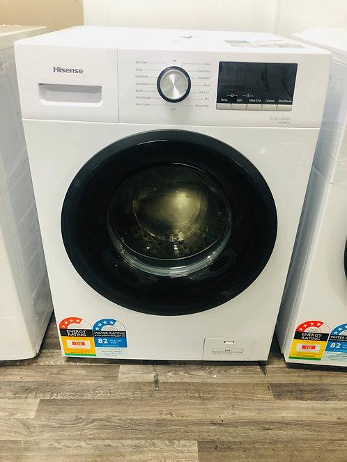 Hisense 8kg Front Loader Washing Machine [2020 Model]