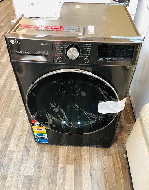 LG 10Kg SERIES 9 AddWash Wifi Washing Machine STEAM (BLACK STEEL)