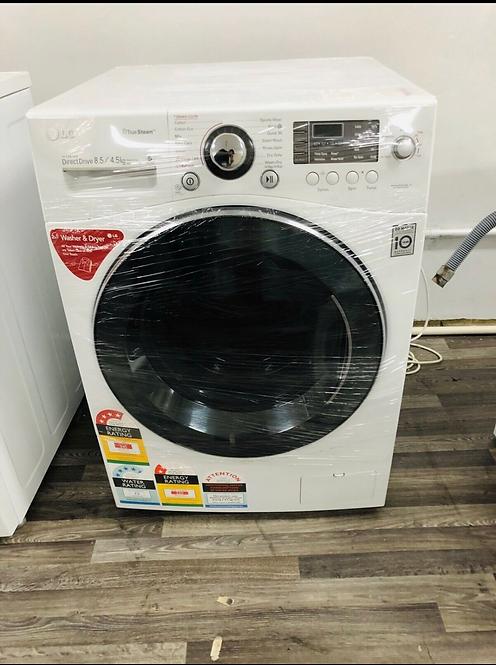 LG 8.5Kg/4.5KG Washer/Dryer Combo Machine with STEAM Wash