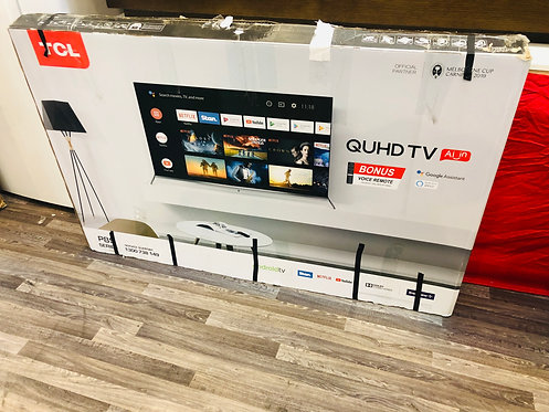 TCL 55 inches P8M 4K Android Smart Wifi LED TV