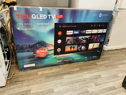 "TCL 65"" QLED 4K 200Hz Quantum Dot Display Android Smart TV [2020 Model]"