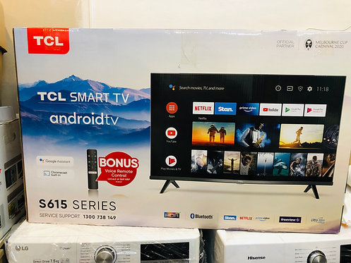 "TCL 40"" S615 Android Smart Wifi LED TV"