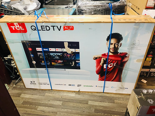 "TCL 65"" QLED 4K Quantum Dot Display Android Smart TV"