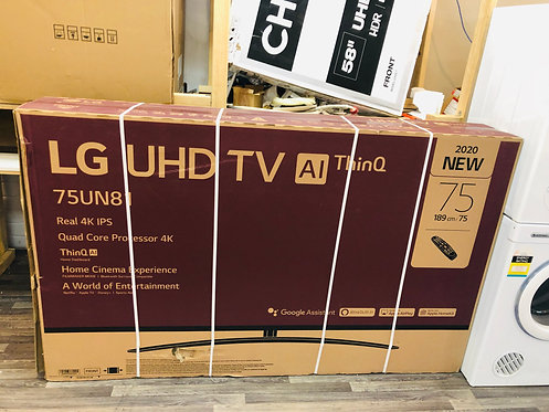 "LG 75"" inches 4K Al Thiq Smart Wifi Ultra HD LED TV"