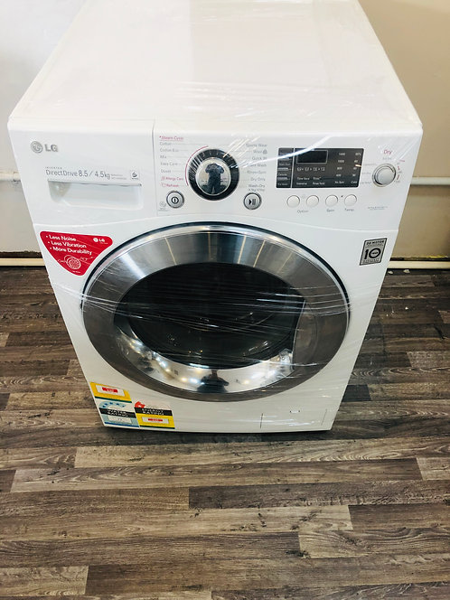LG 8.5/4.5 Direct Drive Front Load Washer/Dryer COMBO with STEAM WASH