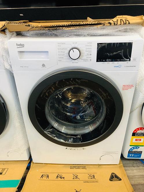 BEKO 7.5Kg INVERTER Washing Machine STEAM Wash [2020 Model]