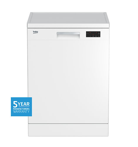 BEKO 14 Place Freestanding Dishwasher WHITE [5 Year Manufacturer Warranty]