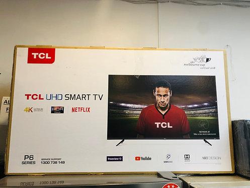 "TCL 43"" 4K HDR Smart Wifi QUHD LED TV"